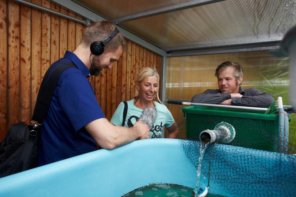 RWF-Radiointerview 2014 (c) ROOF WATER-FARM, Foto: Anja Steglich