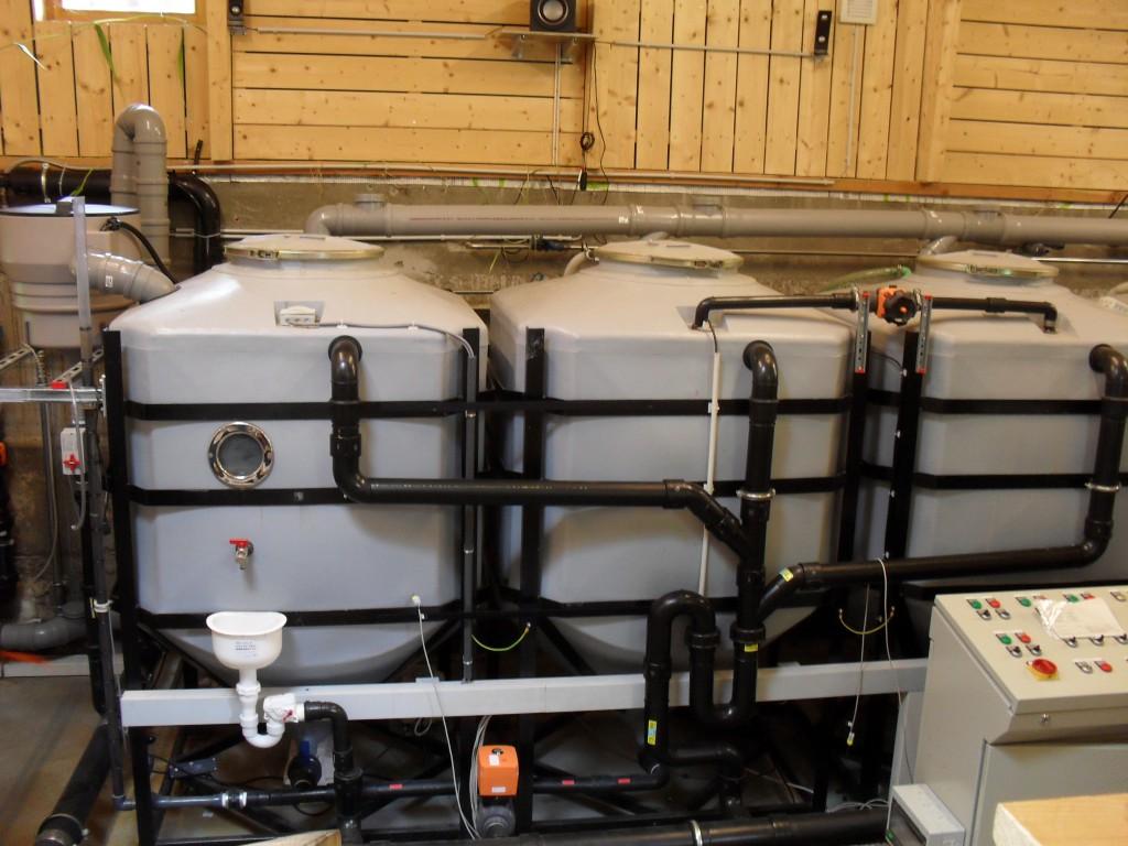 Nolde & Partner als Technologieanbieter für dezentrale Grauwasseraufbereitung. (c) ROOF WATER-FARM, Foto: Wolf Raber
