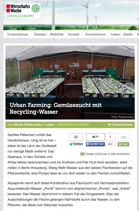 RWF-Pressespiegel 2015 (c) ROOF WATER-FARM