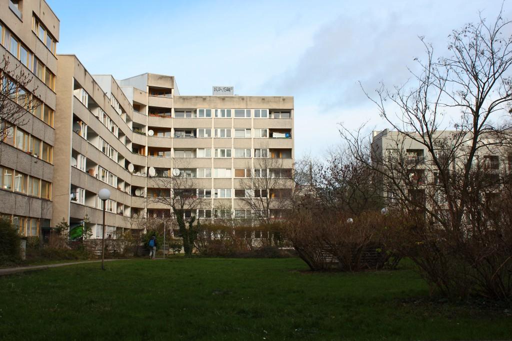 Bestand Studentenwohnheim im Untersuchungsgebiet Innenstadt. Foto Tim Nebert