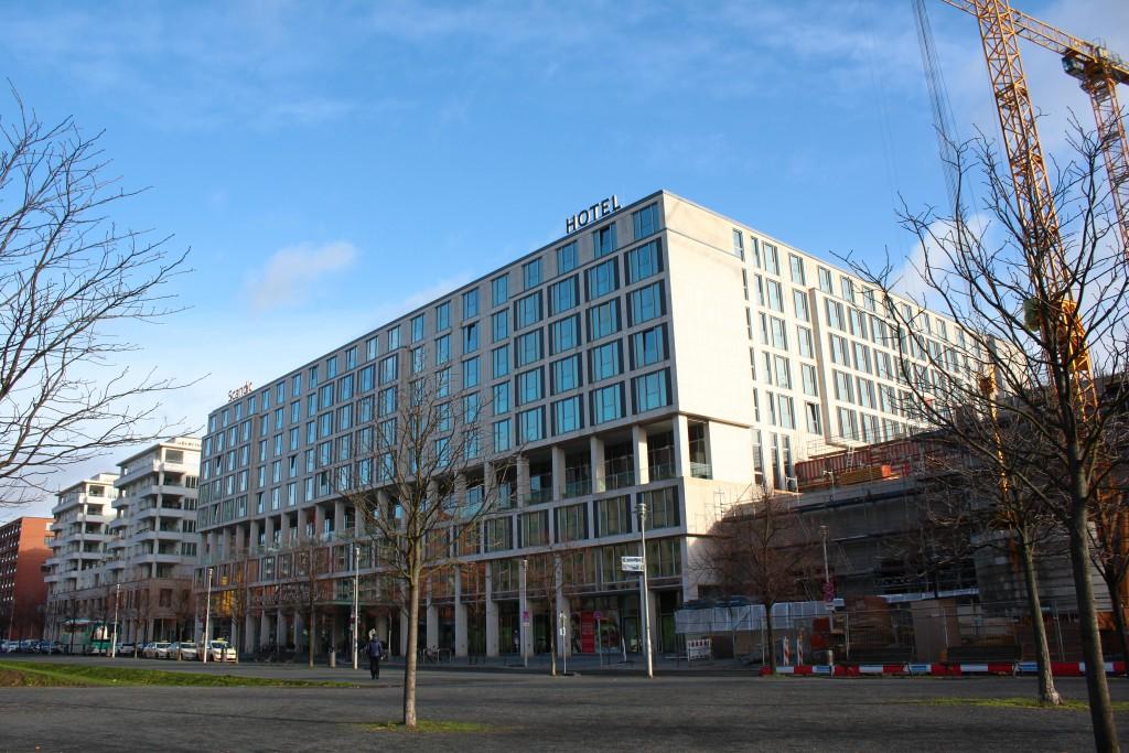 Bestand Hotelbau im Untersuchungsgebiet Berliner Innenstadt. Foto Tim Nebert (c) RWF