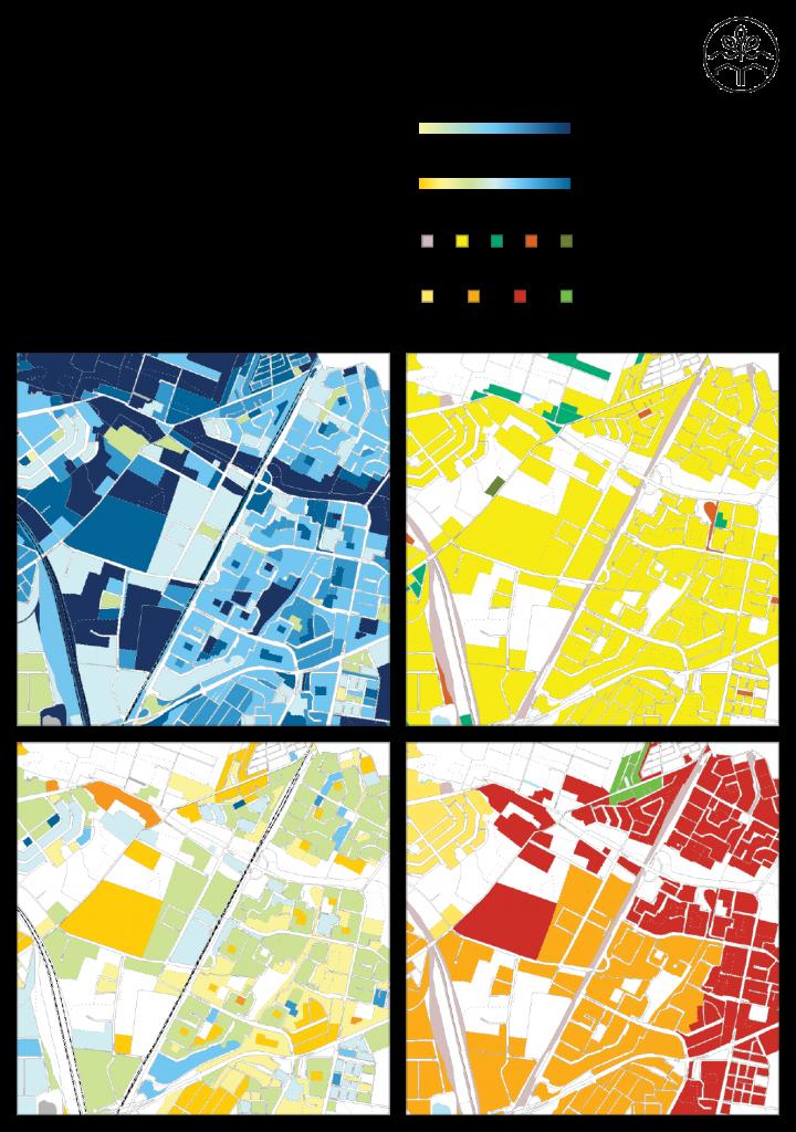 Wasserinfrastruktur im Untersuchungsgebiets. Quelle: Geoportal Berlin, FiS-Broker: http://fbinter.stadt-berlin.de/fb/index.jsp, Senatsverwaltung für Stadtentwicklung und Umwelt. Letzter Zugriff: 16.04.2015