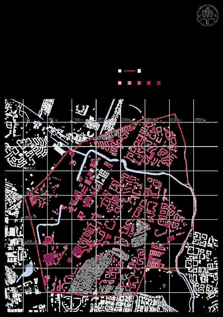 Dachflächenpotentiale im Untersuchungsgebiet. Quelle: Geoportal Berlin, FiS-Broker: http://fbinter.stadt-berlin.de/fb/index.jsp, Senatsverwaltung für Stadtentwicklung und Umwelt. Letzter Zugriff: 16.04.2015