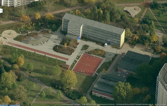 RWF-Anwendungsuntersuchung Bildungsbau, Typ Schule/Typenbau POS68-SK, Standort Grundschule im Modellgebiet Stadtrand, Berlin-Marzahn. Foto: Bezirksamt Marzahn-Hellersdorf von Berlin
