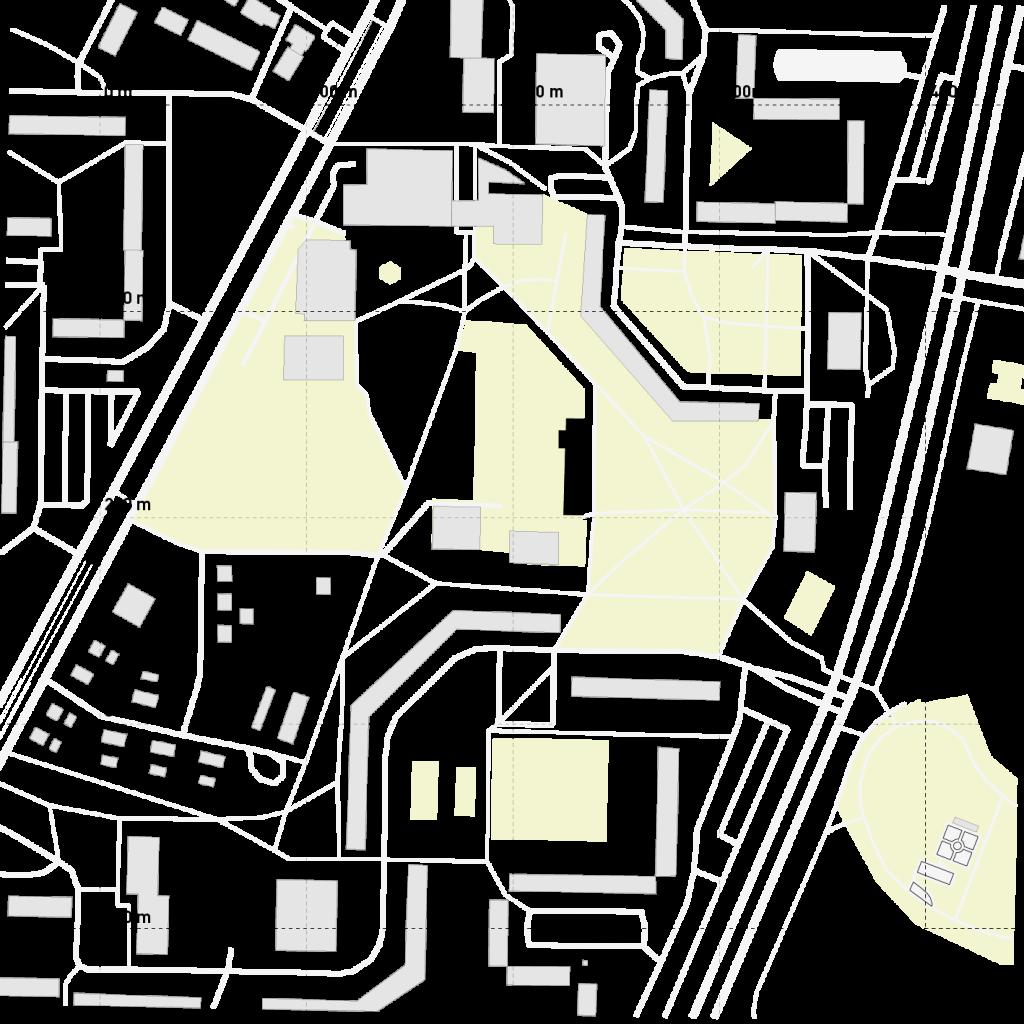 Lage im Stadtraum. (c) ROOF WATER-FARM, Grafik: Jürgen Höfler