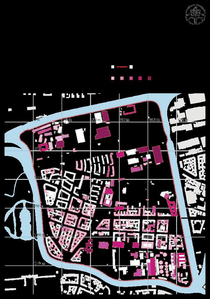 Dachflächenpotentiale im Untersuchungsgebiets (c) RWf