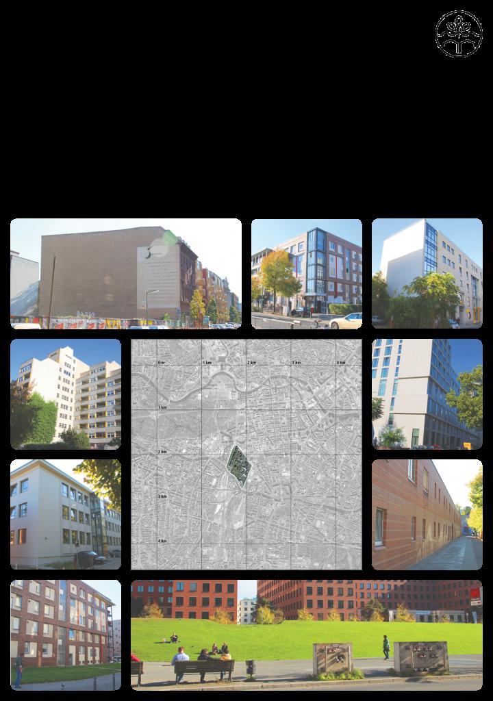 Siedlungscharakter des Untersuchungsgebiets. Datengrundlage: Google Earth, Fotos: Diego Rigamonti
