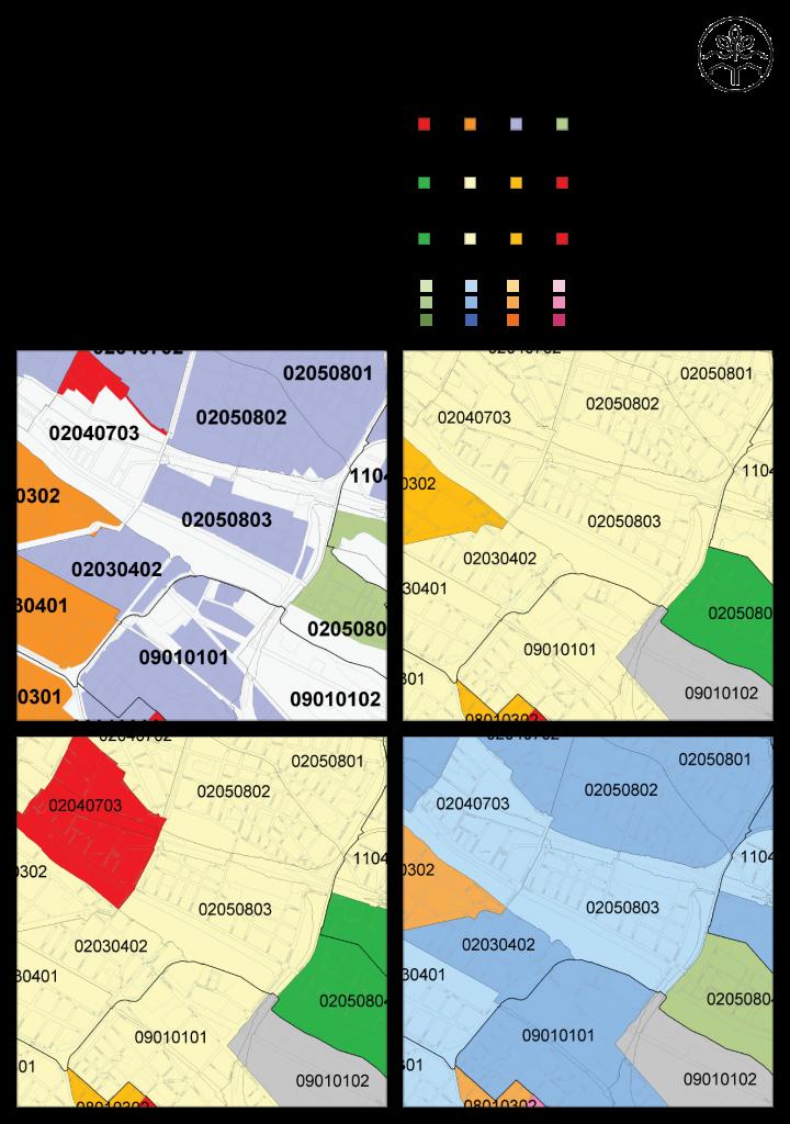 Lebenswelten im Untersuchungsgebiet. Quelle: Geoportal Berlin, FiS-Broker: http://fbinter.stadt-berlin.de/fb/index.jsp, Senatsverwaltung für Stadtentwicklung und Umwelt. Letzter Zugriff: 16.04.2015